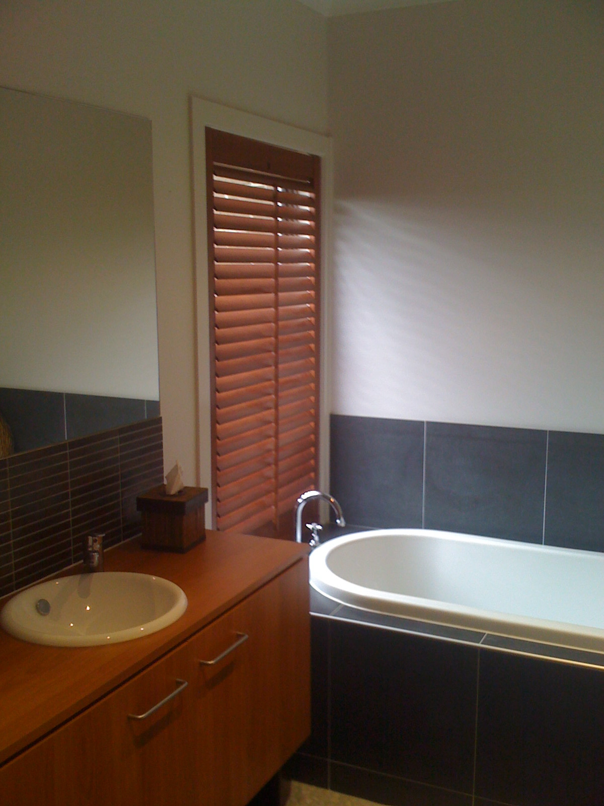 Plantation Shutters Into Blinds