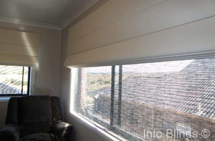 Roman Blinds Block Out