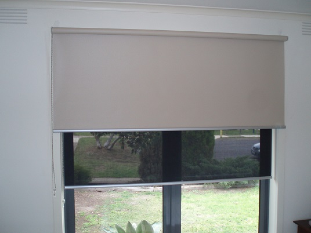 blinds with keep while designer rays view shades roller blocking sun your custom white fascia pin