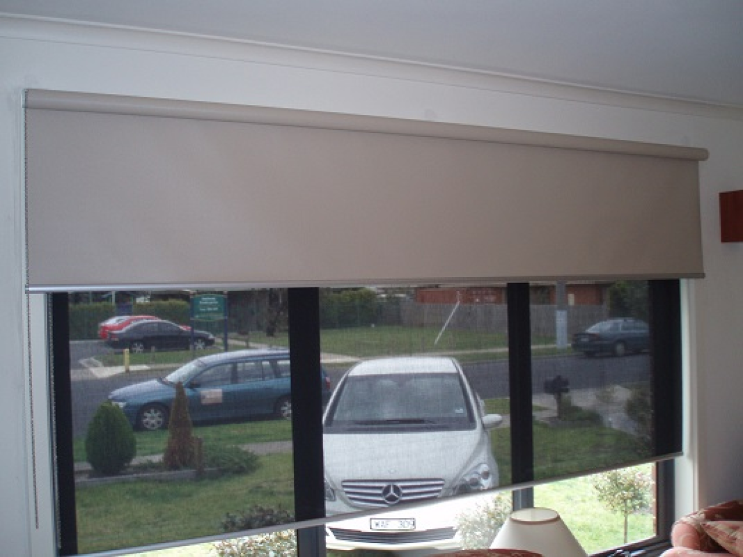 product roll window shade blocking black up sun awnings ts castlecreek sunscreen index blinds