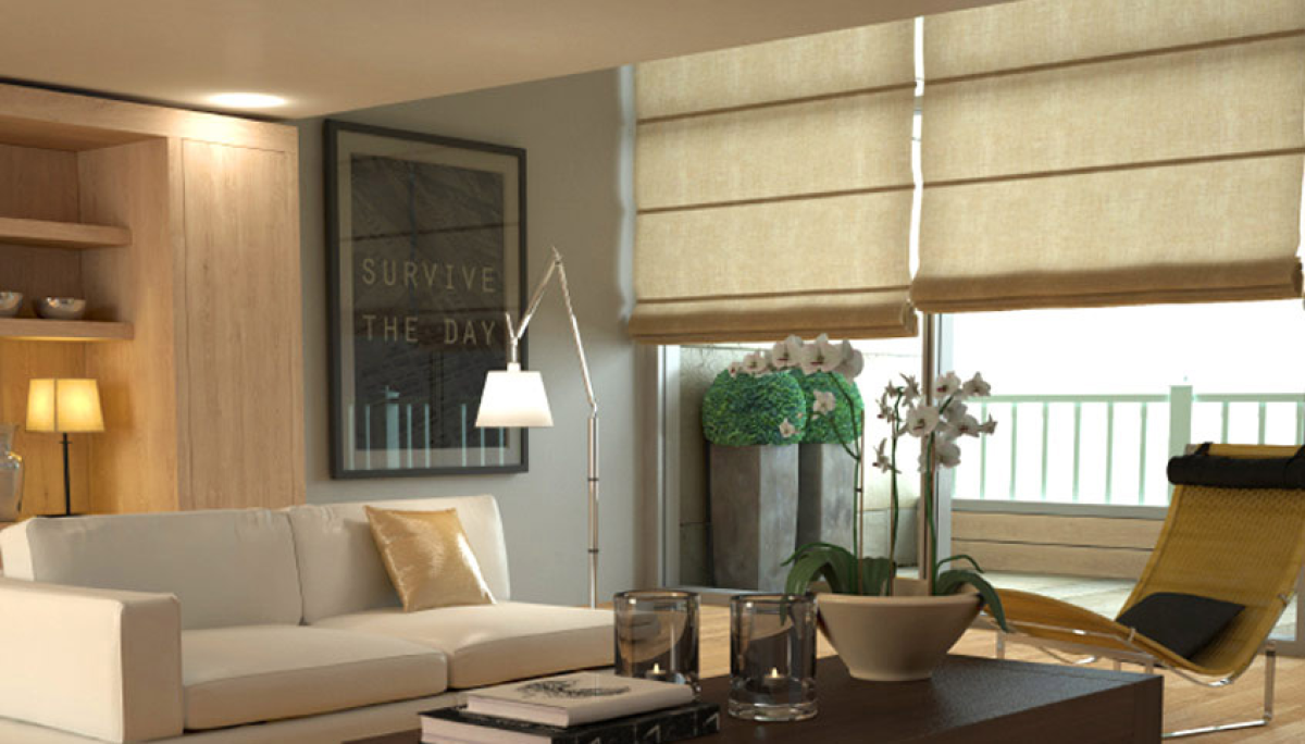 Roman Blinds: Into Blinds Melbourne, Block out & Light Filter - Into ...