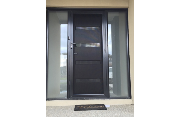 Security Doors Melbourne Panther Protect Tripple Lock Into