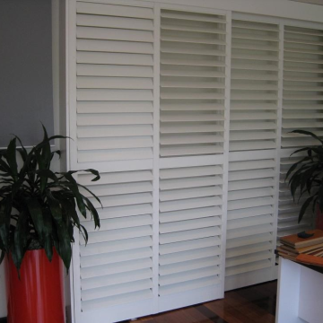 Sliding Glass Doors Can You Put Plantation Shutters On Sliding