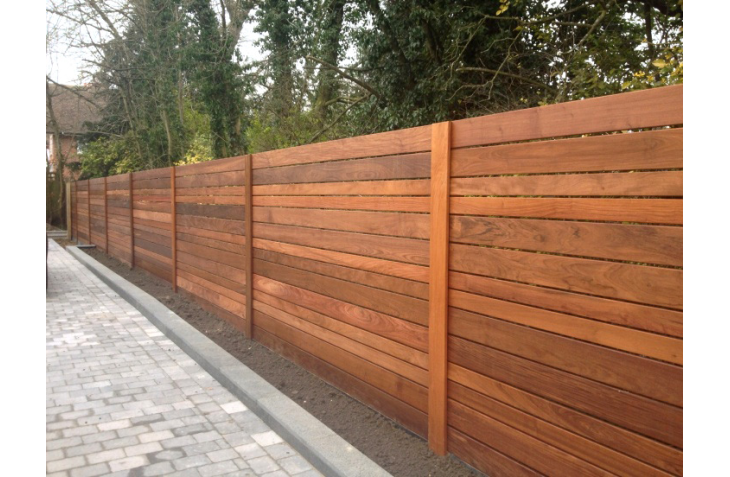 Melbourne Fencing Timber Paling Fencing Exposed Posts