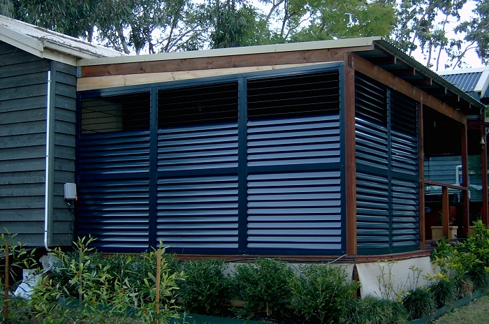Exterior aluminium plantation shutters home design Aluminum exterior plantation shutters