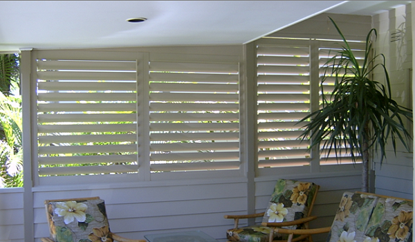 Outdoor plantation shutters aluminium external shutters from into blinds melbourne into blinds Aluminum exterior plantation shutters