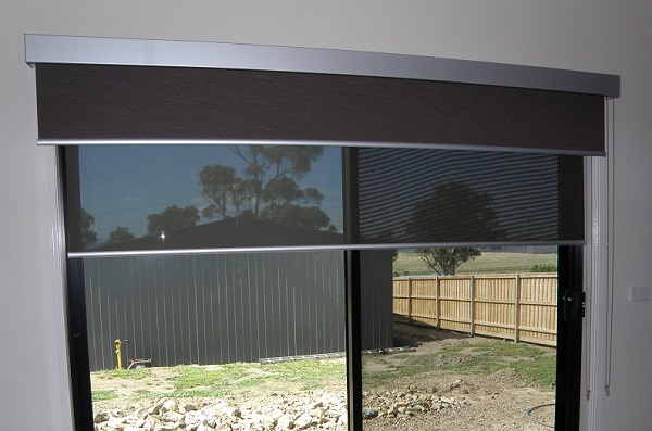 Double Roller Blinds Blockout & Screen Combinations Dual Roller Blinds ...