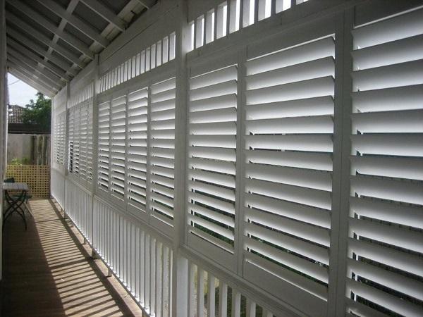 Outdoor Plantation Shutters Aluminium External Shutters
