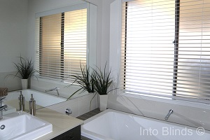 PVC Venetian Blinds are ideal for Wet Areas