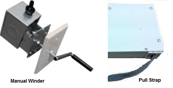 Roller Shutters Pull Strap & Winder