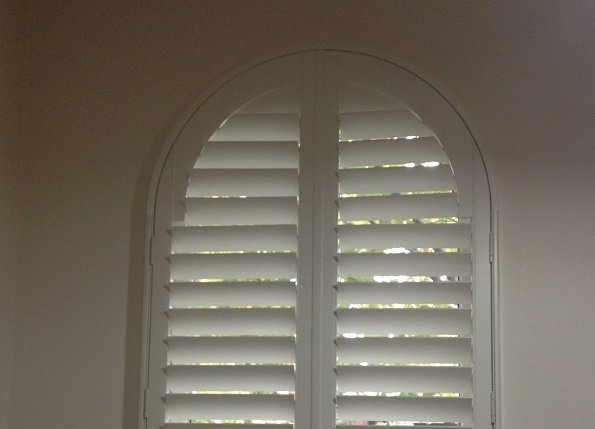 Circular Shaped Window Shutters