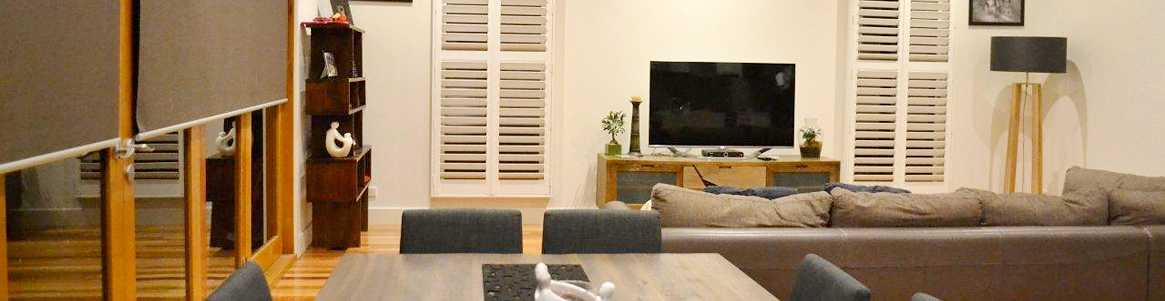 into Blinds - Plantation and Roller Blinds