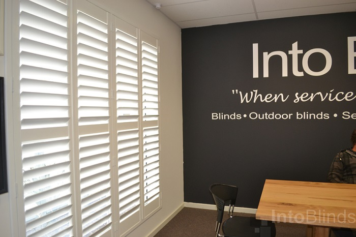 Into Blinds Showroom Shutters