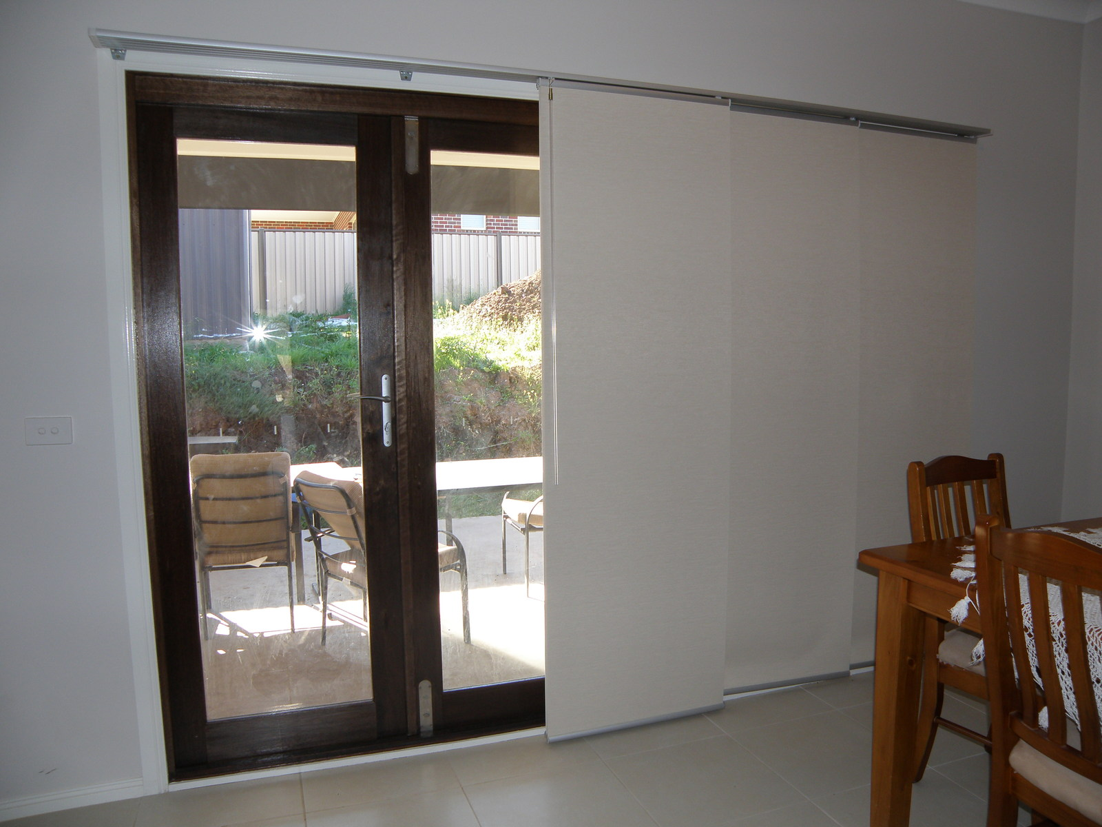 Panel Blinds Melbourne Blockout Panel Glide Blinds Sliding