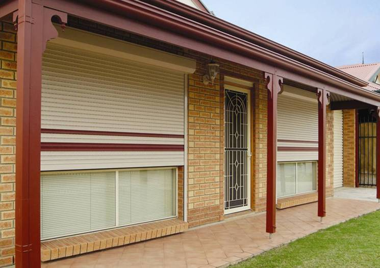 Roller Shutters Automatic Electric Remote Controlled Into
