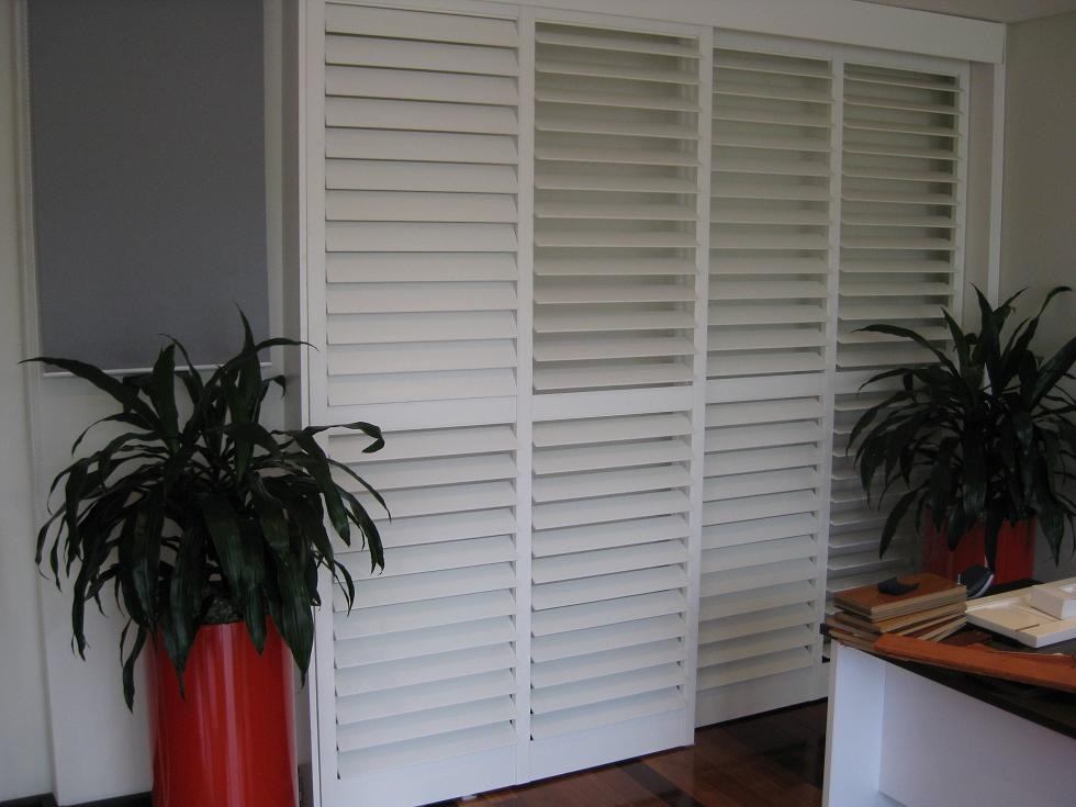 Sliding Doors Plantation Shutters Into Blinds Melbourne
