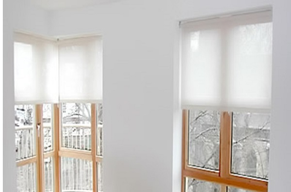 Translucent Light Filter Roller Blinds Into Blinds
